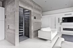 Moderner Flur, Diele & Treppenhaus von AR Design Studio