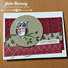 Julie Ramsay | Stampin' Up! Demonstrator | Click on the picture to see more of Julie's designs #creativejulesstamps #stampinupcanada