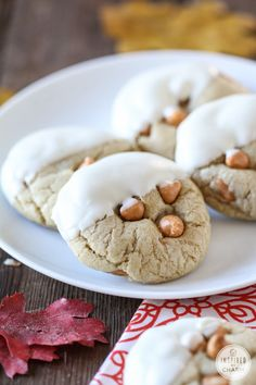 White Chocolate Soft-Baked Butterscotch Cookies