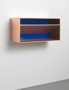 View Untitled (Bernstein by Donald Judd sold at Contemporary Art Evening on New York Auction 13 November 2014 Learn more about the piece and artist, and its final selling price Funny Furniture, Blue Furniture, Plywood Furniture, Furniture Design, Sculpture Art, Sculptures, Bedroom Setup, Action Painting, Alberto Giacometti