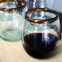 cute stemless wine glasses (at west end )