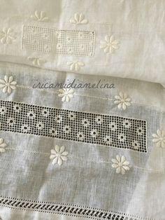 iricamidiamelina Paper Embroidery, Japanese Embroidery, Embroidery Stitches, Needle Lace, Bobbin Lace, Embroidery For Beginners, Embroidery Techniques, Needlepoint Stitches, Needlework