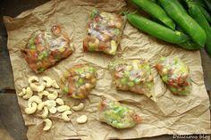 Delicious blog: Pečené rýžové balíčky Delicious Blog, Fresh Rolls, Meat, Chicken, Ethnic Recipes, Food, Essen, Meals, Yemek