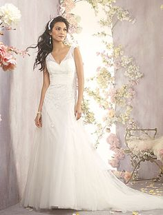 Alfred Angelo Bridal Style 2403 from Full Collection   Inspirations   Bride & Groom