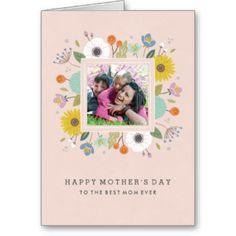 Tarjeta de felicitación del día de madre del