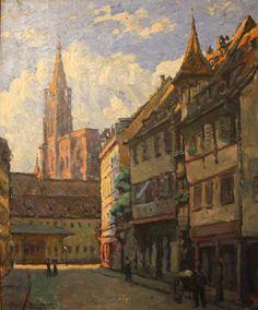 Lucien Blumer Cathédrale de Strasbourg