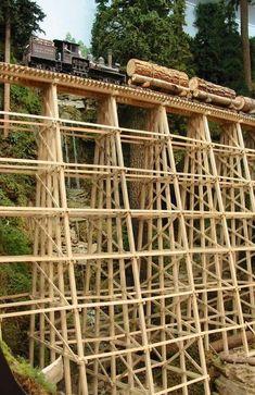 Needs Assembly No Screws & Instructions Delicious Vintage Lionel # 321 Trestle Bridge