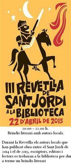 País de Xauxa FIGUERES. BIBLIOTECA MUNICIPAL 20:00 h. SANT JORDI 2015. III REVETLLA LITERÀRIA. #paisdexauxa #PaísdeXauxa #figueres #Biblioteca #SantJordi2015 #santjordi #RevetllaLiterària