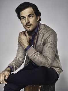 """When I told my sister-in-law that I was interviewing Giacomo Gianniotti, aka intern Andrew Deluca of Grey's Anatomy, the first thing she said was """"Ask him if Alex is leaving the show! Grey's Anatomy, Dear Future Husband, Best Series, Gorgeous Men, Pretty Boys, Actors & Actresses, Hot Guys, Eye Candy, Men Sweater"""