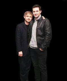 Martin Freeman and Richard Armitage