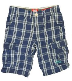 Superdry Mens Washbasket Short - Colombus Navy Check – great if you're heading for the sun. £47.95 with free p&p at www.moyheelandtraders.com