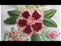 ВЫШИВКА: ЦВЕТОЧКИ для начинающих \ EMBROIDERY: FLOWERS for beginners - YouTube