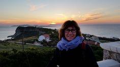 Wellnessfeeling für Monika - durchaus auch ein Sonnenuntergang auf Korfu