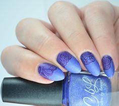 Colors by Llarowe A Lot More Help Sucking Up UberChic beauty 4-02 Sally Hansen Insta-Dri Pronto Purple  #nailart #nailpolish #nailblogger #naillacquer #manicure #indieswatch #notd #nailpolishaddict #nailaddict #coloroftheday #indiesshakeitbetter #cutenail