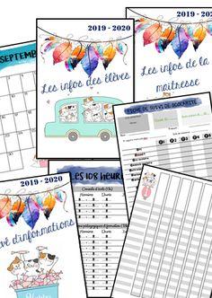Gestion Administration, Teacher Books, Teacher Planner, Cycle 3, Classroom Management, Bullet Journal, Organization, Teaching, School