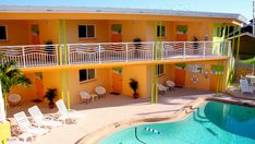 Secret Hotels of Florida's Gulf Coast: The pool area at Frenchy's Oasis Motel in Clearwater Beach, Fla. Description from pinterest.com. I searched for this on bing.com/images