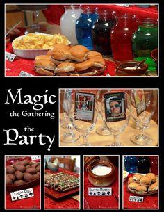 { Magic The Gathering Party } Sugar Bean Bakers
