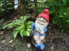 Sittin' & Smokin' Gnome
