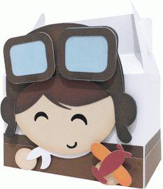 Silhouette Design Store - View Design #61085: cute aviator box
