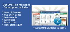 Is Your Biz Mobile ?  We are more than APPS! We provide complete Mobile Solutions for small and large businesses. Mobile is not a FAD but a new marketing tool to reach and retain your customers.   For more info visit us at http://www.getabusinessmobileapp.com/