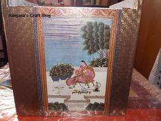 Decoupage Box- Antique look