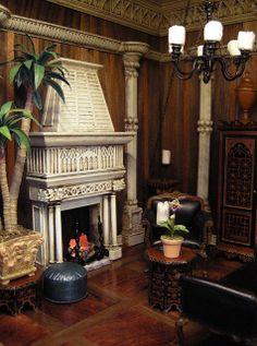 Fantasy Castle Room Box for J. BushBy Ken@JBM  Ken Haseltine