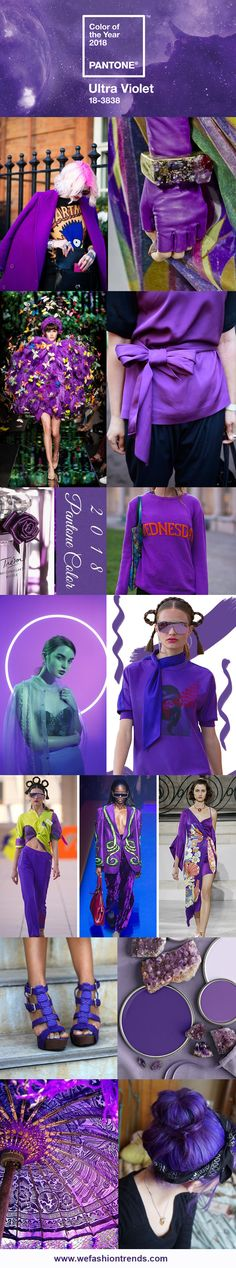 Ultra violet: cor do ano 2018 - Pantone