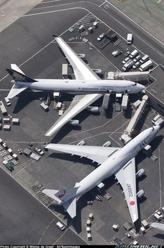 Boeing 747-446, Los Angeles - International