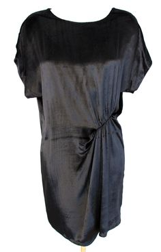Filippa K silk velvet party dress via shop.isthenew.at €125