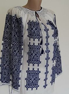 Romanian Peasant Blouse ie for sale. You can buy traditional hand embroidered folk blouses from Romania boho Peasant Blouse, Kimono Top, Folk Costume, Costumes, Ukrainian Dress, Embroidered Blouse, Costume Design, Playing Dress Up, Folktale