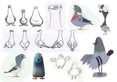 character design pigeon - Buscar con Google