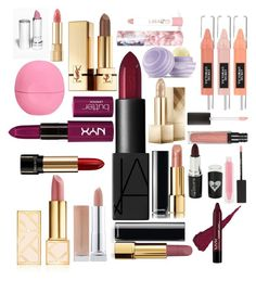 """""""Untitled #23"""" by aleksaroyus on Polyvore featuring Tory Burch, Chanel, NARS Cosmetics, Lancôme, Burberry, Eos, Yves Saint Laurent, Dolce&Gabbana, MAKE UP STORE and LAQA & Co."""