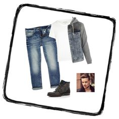 """Liam Payne Midnight Memories video outfit"" by katie-francesca-kelland on Polyvore"