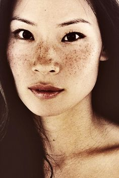 Lucy Liu, I like to think she's a very nice and happy person in real life.