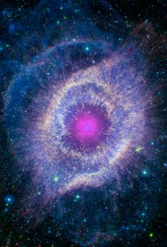 I have always been troubled and disagree with the singularity concept of the big bang and here is finally a quantum theory which reverts back to the idea that the universe is really infinite and had no beginning. Cosmos, Helix Nebula, Orion Nebula, Hubble Space, Space And Astronomy, Interstellar, Earth From Space, Amazing Spaces, To Infinity And Beyond