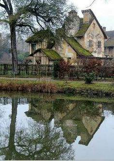 Marie Antoinette's Farm. Versailles.  Photo Ian Sanderson