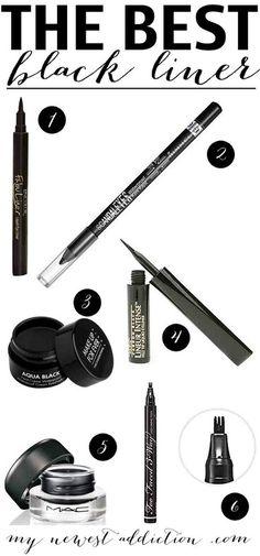 Black eyeliners