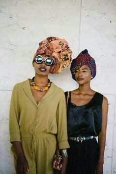 street fashion with some head wrap inspiration