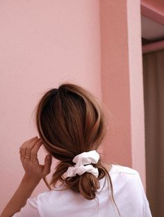 Hair Ribbons Are Underrated cute hairstyles Face Shape Hairstyles, Scarf Hairstyles, Cute Hairstyles, Straight Hairstyles, Famous Hairstyles, Fringe Hairstyle, Party Hairstyle, Long Haircuts, Spring Hairstyles