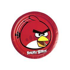Angry Birds Parti Tabak, doğum günü için gereken malzemeler