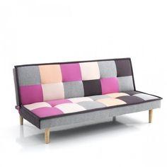 Wink Design, Smart, Divanoletto, Multicolore, 90 x 80 x 180 cm Futons, Scatter Cushions, Toss Pillows, Sofa Bed Size, Public Seating, Cushion Filling, Power Recliners, Fibre Textile, Style