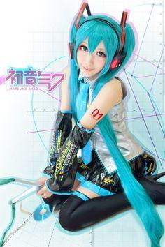 Hatsune Miku(VOCALOID) | Mon - WorldCosplay