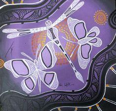 Colin Wightman Aboriginal Art Aboriginal Art Animals, Aboriginal Dot Painting, Indigenous Australian Art, Indigenous Art, Animal Templates, Art Assignments, Sand Painting, Geckos, Painted Leaves
