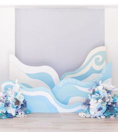 Girls Just Wanna Have Sun - Sophia's Birthday Mermaid Party Under The Sea Decorations, Mermaid Theme Birthday, Luau Birthday, Cute Mermaid, Photo Booth Backdrop, Photo Couple, Booth Design, Ocean Waves, Backdrops
