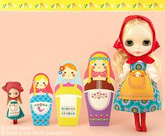 Matryoshka Maiden Blythe. Wish I could afford this one!