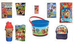 Paw Patrol 9 Piece Fun Filled Easter Gift Set for Boys #PawPatrol #Easter