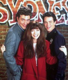 "Craig Bierko, Valerie Bertinelli &  Matthew Perry in Sydney (1990) """