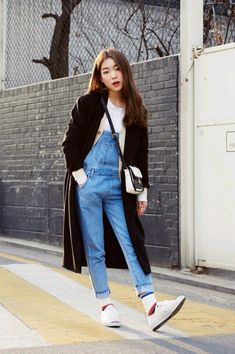 Overalls | in Asian style | @printedlove
