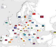 Flags of Major European Cities