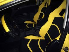 Seat Leon FK Yellow Seats